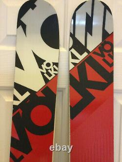 2016 Volkl Mantra skis size 191cm with Marker Griffion bindings