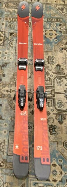 2017 Blizzard Bonafide 173cm Skis With Marker Griffon Bindings