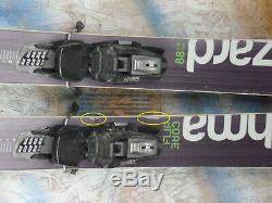 2017 Blizzard Brahma 173cm with Marker Squire Binding
