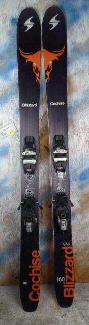 2017 Blizzard Cochise 160cm With Marker Squire Binding