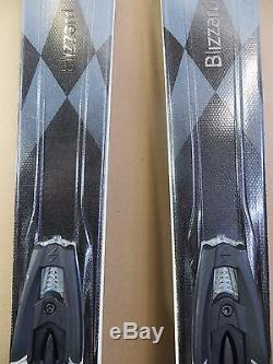 2017 Blizzard Quattro 7.4 CA Wmn's Demo Skis 156cm Marker TCX 12 Bindings