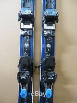 2017 Blizzard Quattro 8.0 Ti Wmn's-Rep Fleet Skis 168cm Marker TCX 12 Bindings
