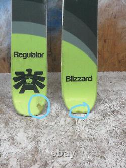 2017 Blizzard Regulator 179cm with Marker Squire Binding