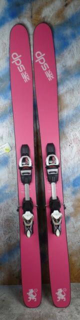 2017 Dps Yvette 168cm With Marker 12.0 Binding