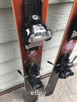 2017 K2 Pinnacle 105 Skis 170cm Marker Griffon Demo Bindings CLEAN