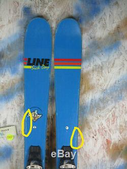 2017 Line Sick Day 95 Shorty 152cm with Marker Squire Binding