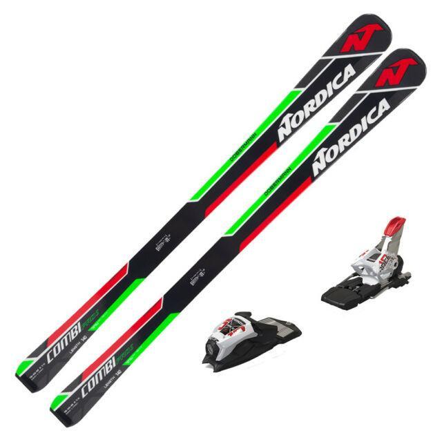 2017 Nordica Dobermann Combi Pro S Junior Skis With Marker Race 10 Tcx Bindings