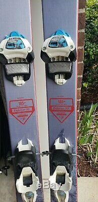 2017 Nordica Enforcer 93 185cm with Marker Griffon 13 Binding