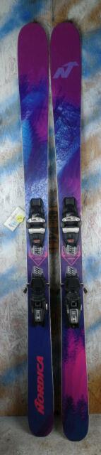 2017 Nordica Santa Ana 93 169cm With Marker Squire Binding