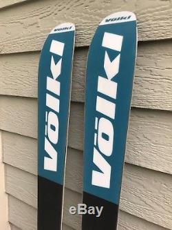 2017 Volkl 90Eight 184cm ski withMarker Griffon Grip Walk Adjustable Demo Bindings