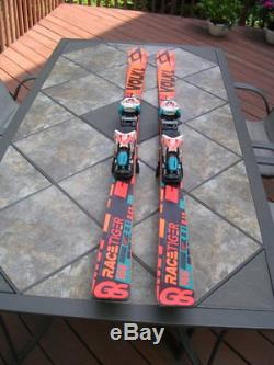 2017 Volkl GS Racetiger Giant Slalom 166cm Marker XCELL 12 Race binding