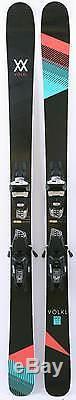 2017 Volkl Kenja Womens Skis w Marker Squire Demo Bindings Used Demo Skis 163cm