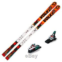 2017 Volkl Racetiger SW GS R UVO Skis & 9mm Plate with Marker Xcell 12 Bindings