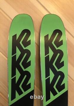 2018 170 cm K2 Pinnacle 95 demo skis + Marker Griffon 13 bindings