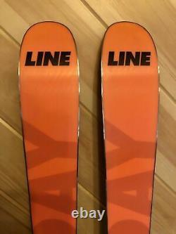 2018 172 cm Line Sick Day 94 mid-fat demo skis + Marker Griffon 13 bindings