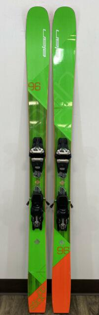 2018 Elan Ripstick 96 Downhill Skis With Marker Griffin 13 Bindings 174cm