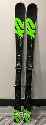 2018 K2 Iconic 80 ti 156 cm with Marker MXC 12.0 Binding Used 1 day excellent