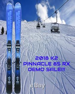 2018 K2 PINNACLE 85 RX DEMO SKIS 149 CM COMPLETE WithMARKER 10.0 DEMO BINDINGS