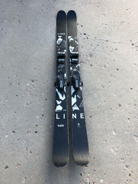 2018 Line Blend 100 Ski Length 185 With Marker Griffon Bindings