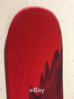 2018 NORDICA Enforcer 100 185 SKI with Marker Griffon Bindings Used Exc Cond