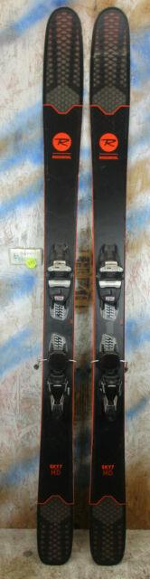 2018 Rossignol Sky 7 Hd 172cm With Marker Squire Binding
