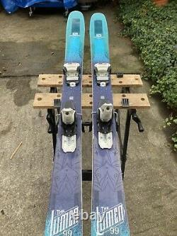 2018 Salomon Women's QST Lumen 99 174cm Skis with Marker Griffon Bindings