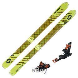 2018 Scott Superguide 105 Skis with Marker Kingpin 13 Bindings 175 cm 254209K