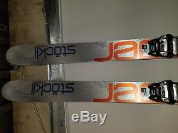2018 Stockli Stormrider SR88 Ski Set, Sz 177, Comes withGriffon Marker Bindings