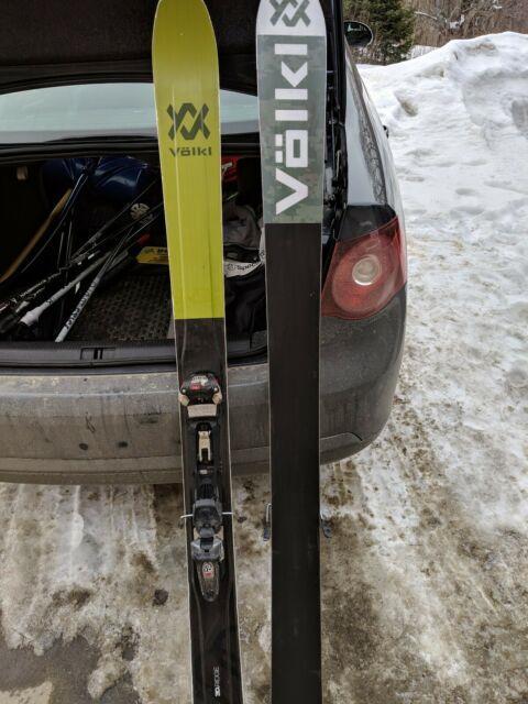 2018 Volkl 108 (181cm) With Marker Duke Touring Bindings