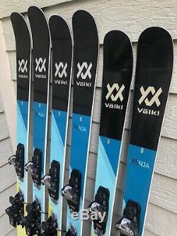 2018 Volkl Kenja Women's Demo Skis with Marker Squire 11 Demo Bindings CLEAN