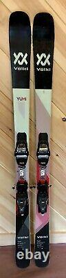 2018 Volkl Yumi women's demo skis withMarker bindings, 154 cm or 161 cm available