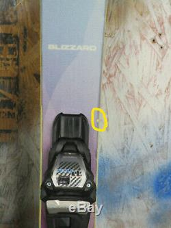 2019 Blizzard Black Pearl 88 145cm with Marker TCX 11 Binding