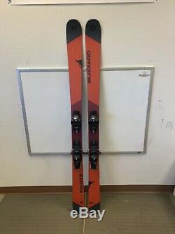 2019 Blizzard Bonafide 180cm Skis with Marker Griffon Grip Walk Demo Bindings