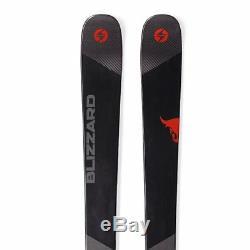 2019 Blizzard Brahma 166cm Skis & Marker 12.0 TPX 90mm Ski Bindings NEW