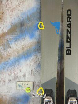 2019 Blizzard Brahma CASP 166cm with Marker TCX 11 Binding