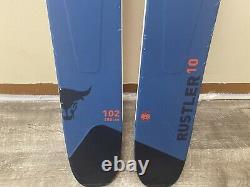 2019 Blizzard Rustler 10 Skis 180cm & Marker Griffon Bindings