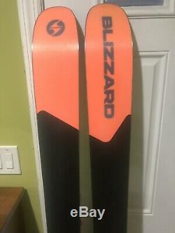 2019 Blizzard Rustler 11 Skis 180cm with Marker Griffon Bindings Excellent Cond
