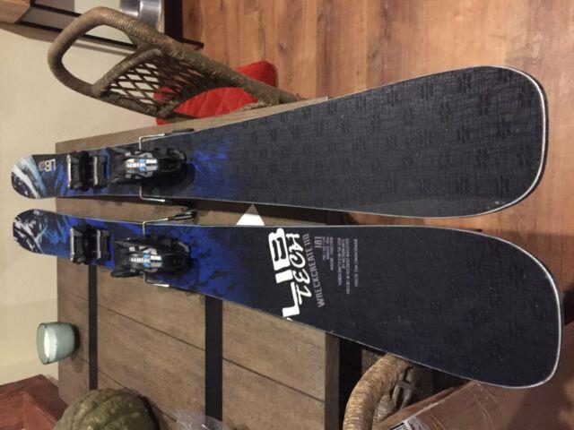 2019 Lib Tech Wreckreate 110 Skis 181cm With 2019 Marker Griffon Bindings