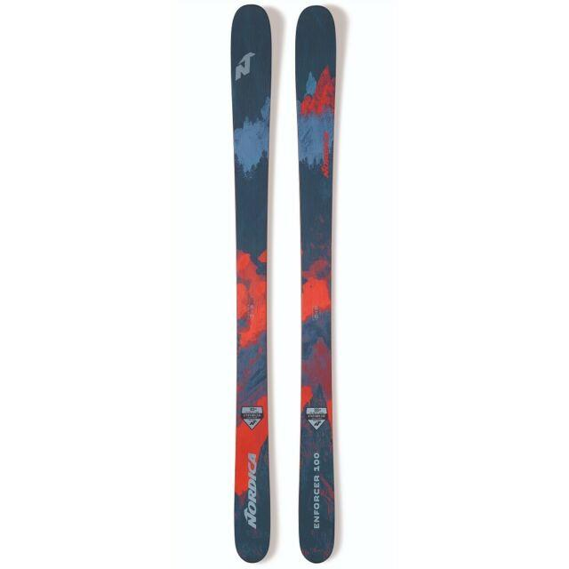 2019 Nordica Enforcer 100 Mens Skis With Marker Griffon 13 B110 Black Bindings