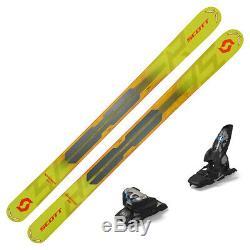 2019 Scott Scrapper 124 Skis with Marker Griffon 13 ID Bindings 266977K