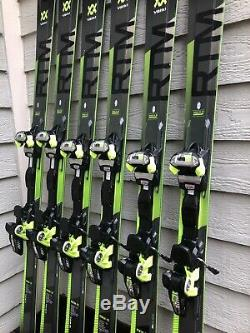 2019 Volkl RTM 84 Demo Skis with Marker IPT WR XL 12 Bindings GREAT CONDITION