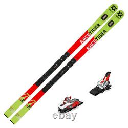 2019 Volkl Racetiger GS R WC 30 Skis with Marker Race Xcell 16 Bindings 11887