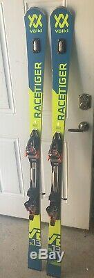 2019 Volkl Racetiger SL R WC UVO Skis with Marker Xcell 16 Bindings