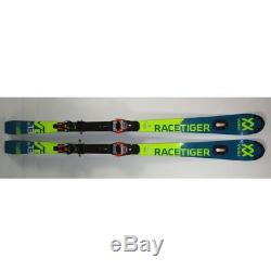 2019 Volkl Racetiger SL Race Skis 165cm with Marker Xcell 18 Bindings (MH68)