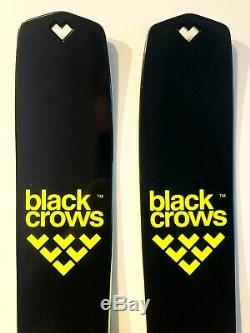 2020 Men's Black Crows Solis downhill skis 180cm with 2020 Marker Squire bindings