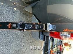 2020 Nordica Soul Rider 177cm with Marker Demo Binding 12 din