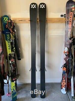 2020 Volkl Kendo 88 skis with Marker Griffon 13 binding 184cm