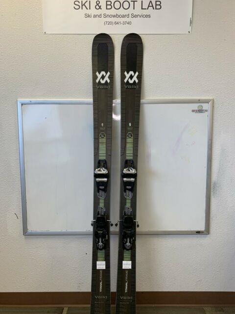 2020 Volkl Mantra 102 177cm Demo Skis With Marker Griffon Bindings