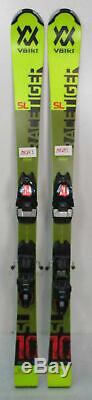 2020 Volkl Racetiger SL Jr Skis 131cm with Marker Race 8 Bindings (MH293)