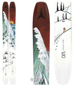 2021 Atomic Bent Chetler 120 Powder Skis +Marker Griffon Bindings 176cm NEW